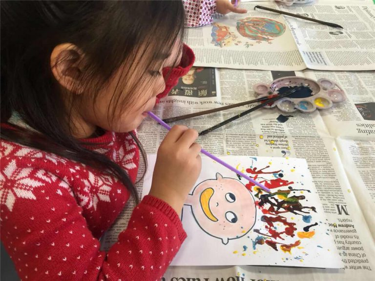 Childlike Simplicity -- Students' artwork from Beginner's Art Classes