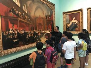 Join our Fine Art teacher Mr Sheng Qi's walk into the museum series teaching activities-National Art Gallery (2018)